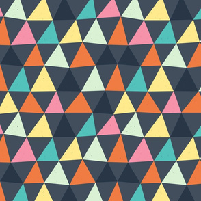 Color Triangles by Friztin