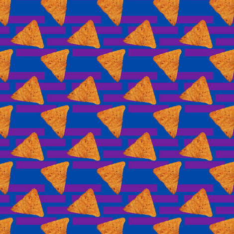 Nacho Cheese fabric by india_ink on Spoonflower - custom fabric