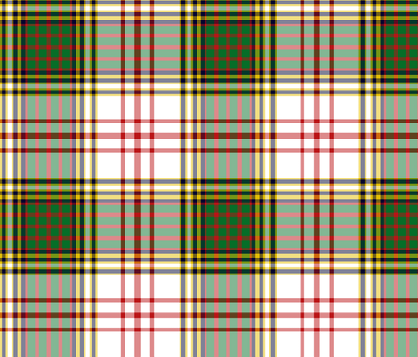 "Anderson dress tartan, 9"" fabric by weavingmajor on Spoonflower - custom fabric"