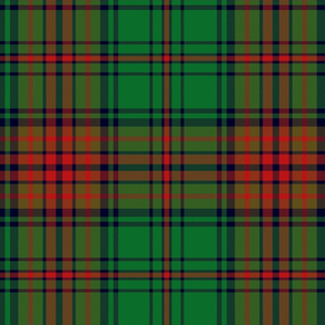 Anderson tartan, red/green, 12""