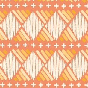chalky tribal - peach