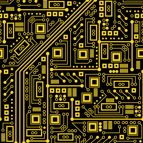 Yellow printed circuit boards