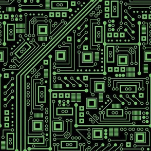 Evil Robo Circuit Board (Green)