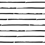 black white striped horizontal