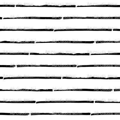 black white striped horizontal