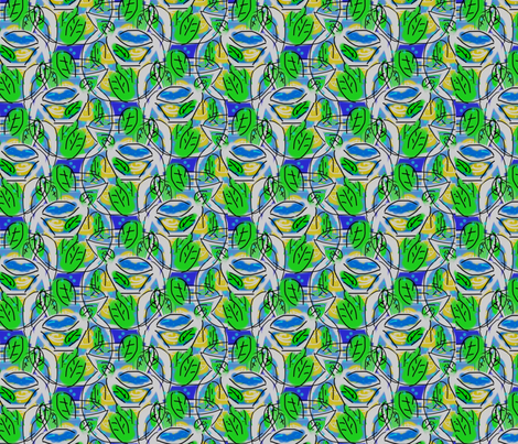 spot the lemon fabric by inniv8z_oz on Spoonflower - custom fabric
