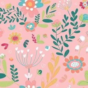 Pink Floral Delights