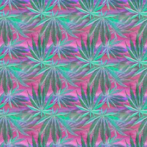 Cannabis Leaf Silk