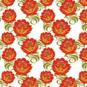Chinese-Red-Yellow-flowers-BKGRD-Tile