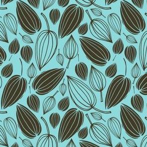 Botanical Beauties - Charcoal & Seafoam 2