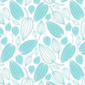 Botanical Beauties - Seafoam