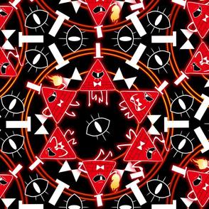 Angry Illuminati Dorito