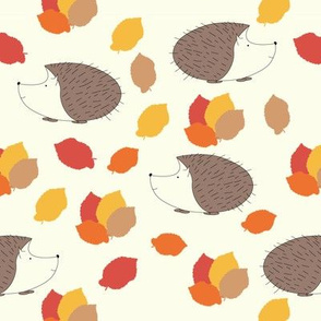 Autumn Hedgehogs