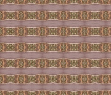 Little Lizards Lurking on the Wonky  Wood - Horizontal Stripes (Ref. 1488) fabric by rhondadesigns on Spoonflower - custom fabric