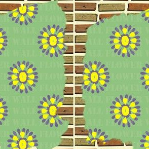 Brick Wall Flower