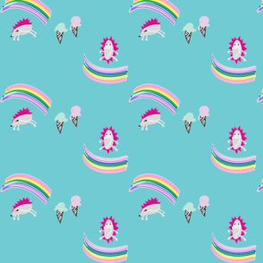 Hedgehog and Rainbows