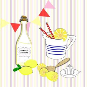 Fresh Sweet Home Made Lemonade Cute Novelty Print