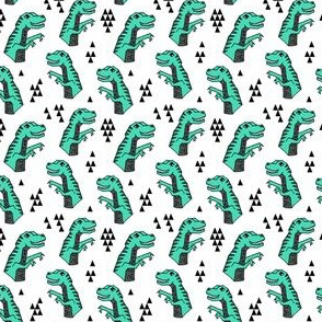 dinosaurs // dino dinosaur kids boys green prehistoric kids jurassic green