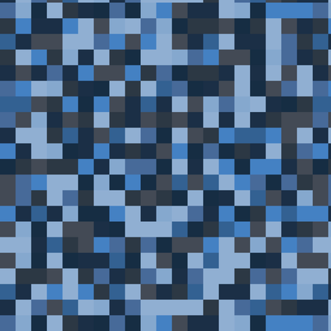 Pixel squares - water fabric by ruth_robson on Spoonflower - custom fabric