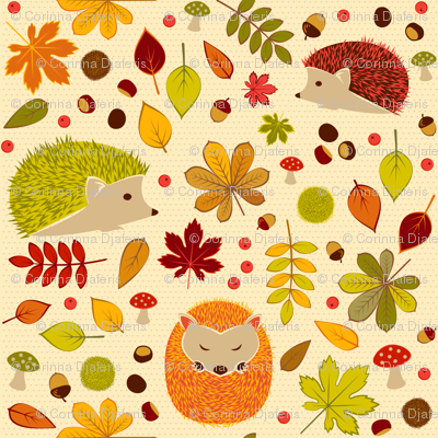 Hedgehogs and Chestnuts