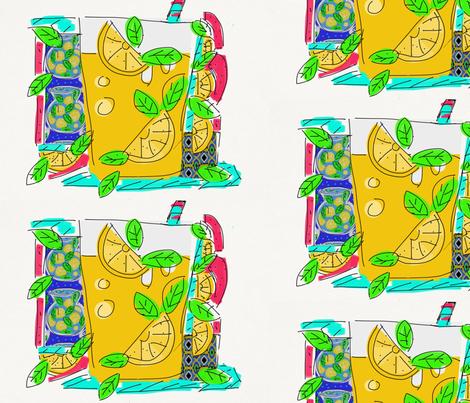making lemonade fabric by inniv8z_oz on Spoonflower - custom fabric