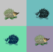 Mr Warhol's Hedgehogs