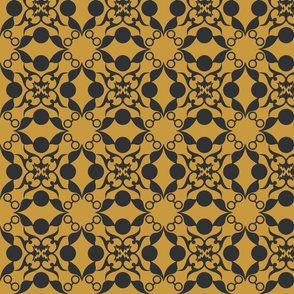 Magical House Damask Three