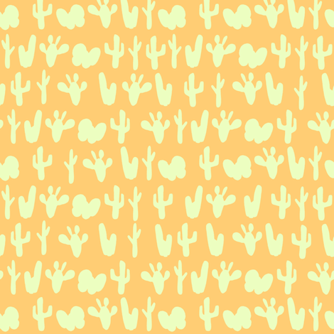 cactus fabric by lburleighdesigns on Spoonflower - custom fabric