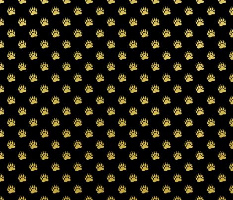 GoldBearPrints fabric by alice_stevens on Spoonflower - custom fabric