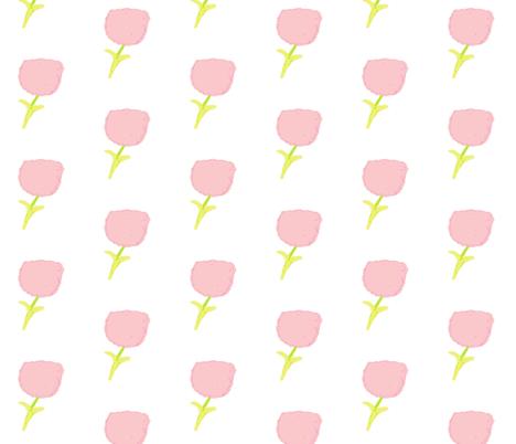 poppy  MEDIUM 35- petal fabric by drapestudio on Spoonflower - custom fabric