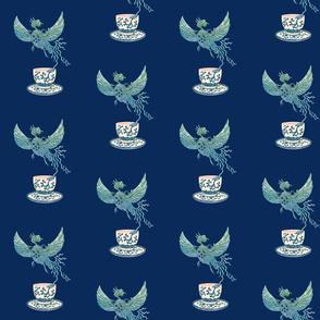 Phoenix Tea in Blue