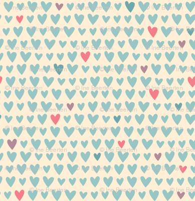 L'Amour Toujours Blue Hearts