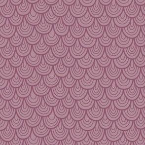 L'Amour Toujours Purple Scallops