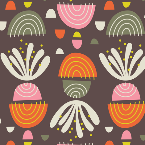 See You Later Abstract fabric by zesti on Spoonflower - custom fabric