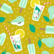 Pear juice summer