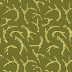 Antlers Leaf Green