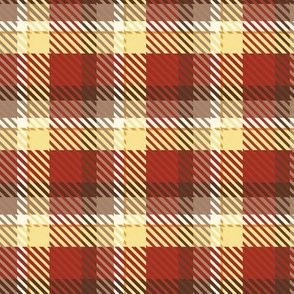 Seasons Autumn Plaid