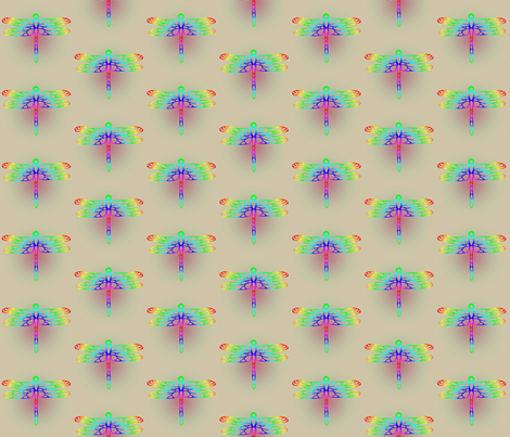 Dragonfly-Gradient1 fabric by alice_stevens on Spoonflower - custom fabric