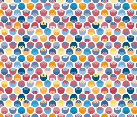 Spiny Heads fabric by seesawboomerang on Spoonflower - custom fabric