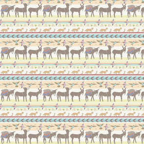 Little Burro serape stripe