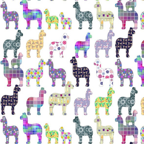 big collection of llamas
