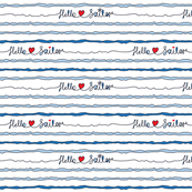 hello sailor print