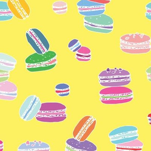 Macarons Yellow