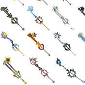Kingdom Hearts - Key Blades