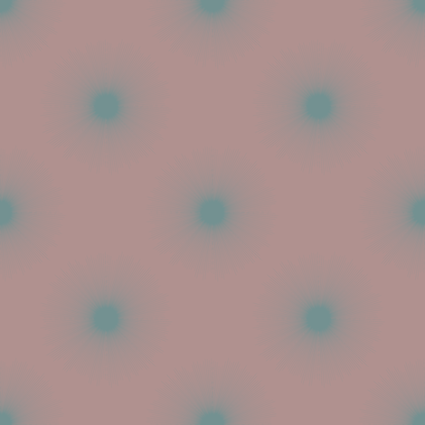 Novaline (Blue on Rose) fabric by david_kent_collections on Spoonflower - custom fabric