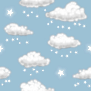 Star Rain (light blue)