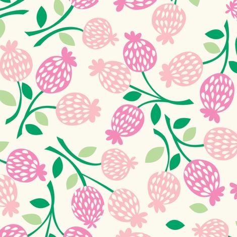 bursting_blossoms_pink fabric by stacyiesthsu on Spoonflower - custom fabric