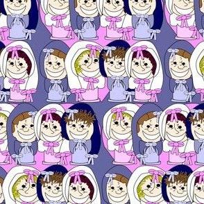 Babies Heads Fabric