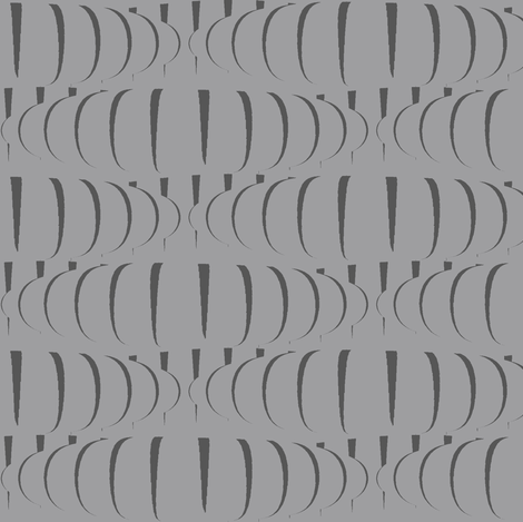 Goard (Dark Gray on Gray) fabric by david_kent_collections on Spoonflower - custom fabric