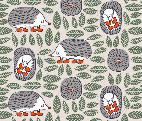Mr Shy fabric by mariaspeyer on Spoonflower - custom fabric